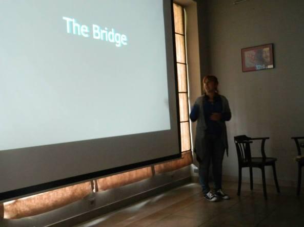 """THE Bridge"" ჩვენება"